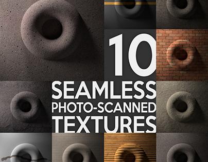 8K Photo-scanned textures V2
