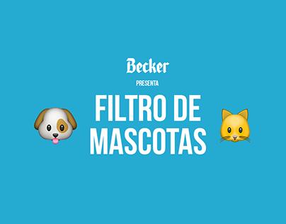 Filtro de Mascotas por Becker
