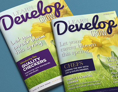 Caring Homes Group – Learn, Develop, Grow magazine
