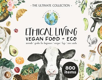 Ethical Living - vegan lifestyle & eco