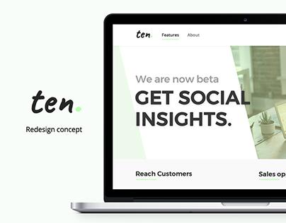 Ten ! Redesign Concept