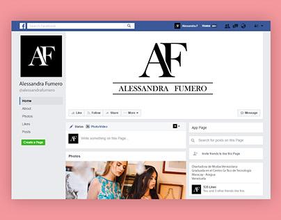 Redes sociales Alessandra Fumero
