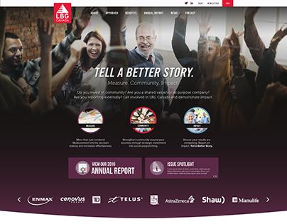 LBG Canada Website Design