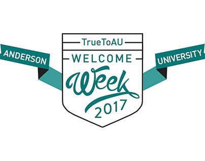 Welcome Week New Branding