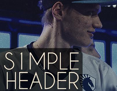 S1mple Header