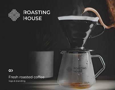 Roasting House - logo design