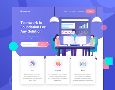 TeameDewek - Landing Page Exploration