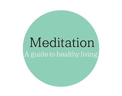 Illustrated guide on meditation.