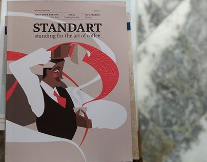 STANDART MAGAZINE - cover