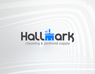 Hallmark Cleaning & Janitorial Supply Branding