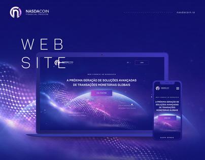 Nasdacoin - Web Design