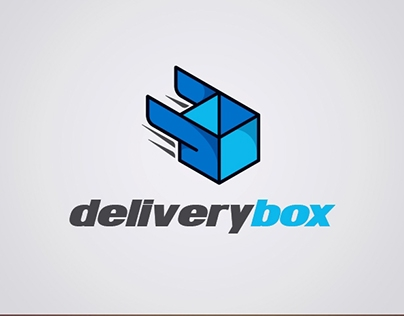 Delivery Box - Logo Template