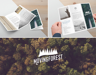 "Branding for ""Moving Forest"""