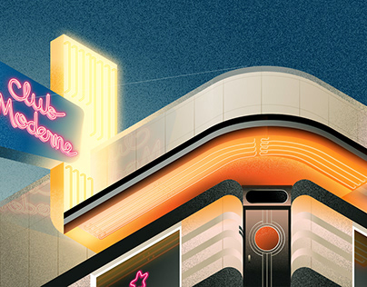 Isometric Art Deco Buildings in the U.S.