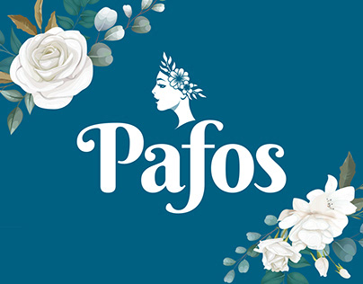 Pafos Flowers branding