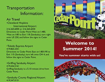Cedar Point Brochure