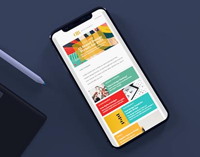 Drip Email Design: Designbot