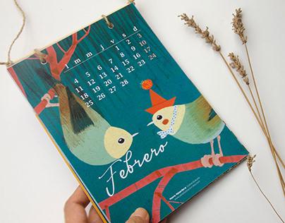 2019 Birds calendar