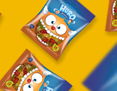 Huro Gummy Packaging design