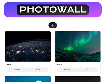 Photowall - Web Development