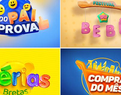 CAMPANHAS VAREJO - SELOS PROMOCIONAIS