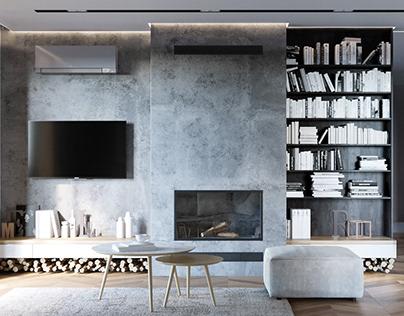Modern interior design mansion |Full CGI | Horizont&WIN