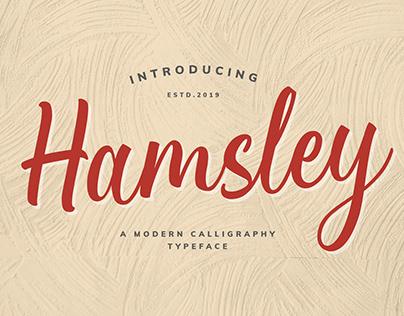Hamsley Script!