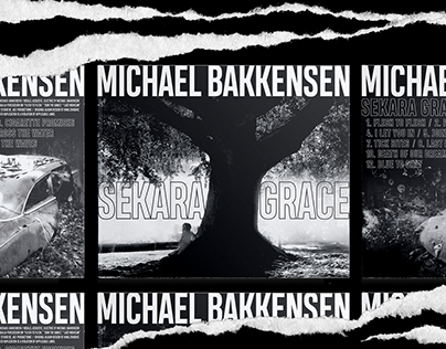 Michael Bakkensen: Sekara Grace × Album Artwork
