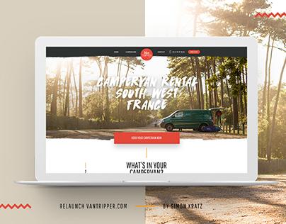 Vantripper Website Relaunch