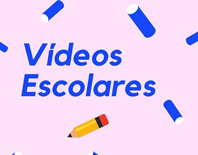 Vídeos Escolares