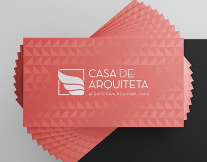 Casa de Arquiteta - Site e Identidade Visual