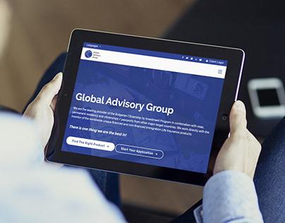 Global Advisory Group | Strategy, Brand, Website