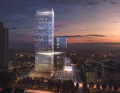 Residential Towers in Frankfurt