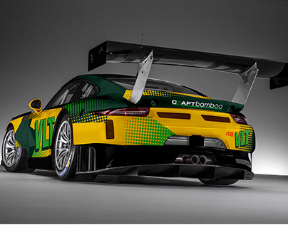 Jaguar F-Type GT3 imagined on Behance