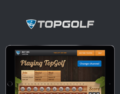 TopGolf Redesign Concept