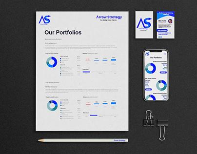 Arrow Strategy Logo & identity