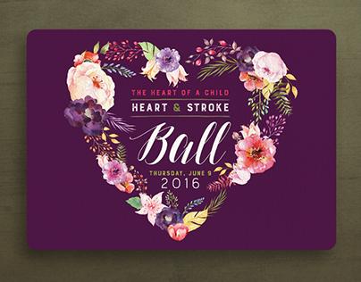 American Heart Association Heart Ball Save the Date