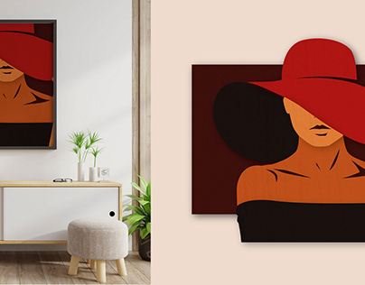 Wall decor illustrations