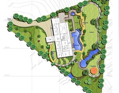 Residential villa design