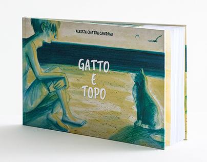 """""""Gatto e Topo"""" albo illustrato"""