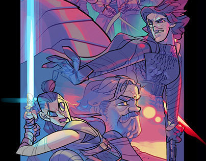 Fanart of STAR WARS The Last Jedi