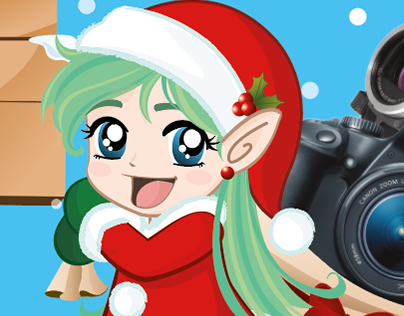 Canon Holiday card