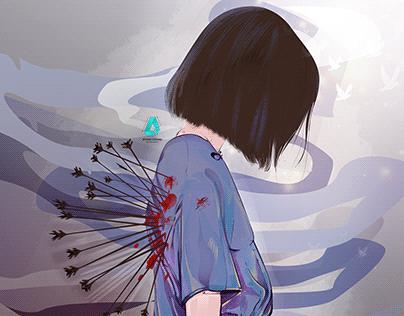 Painful illustration 💔