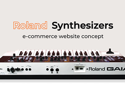 Roland Synthesizers e-commerce