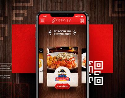 Restaurant Chain Mobile App Design