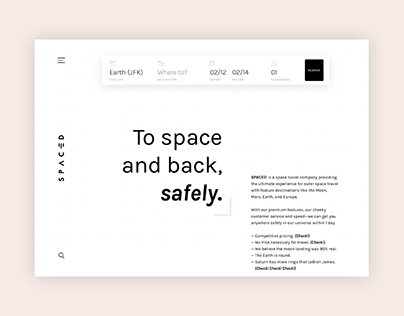 SPACED Design Challenge
