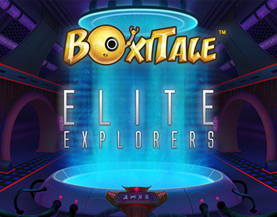 «Boxitale. Sci-Fi». Graphic design