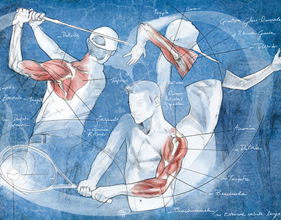 Physio website illustration