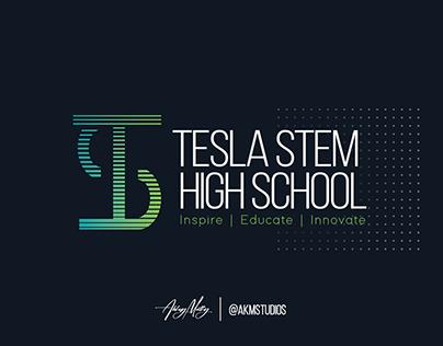 Tesla STEM High School - Official Logo Redesign