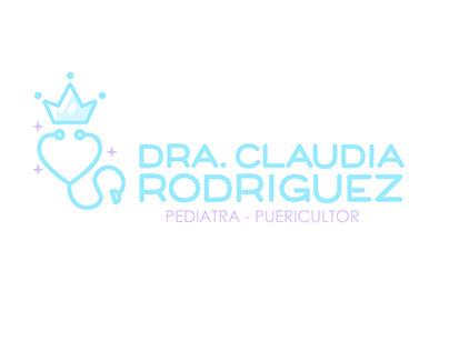 Dra. Claudia Rodriguez - Logo/Identity